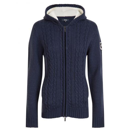 Veste à capuche laine Femme Priscas Hagg