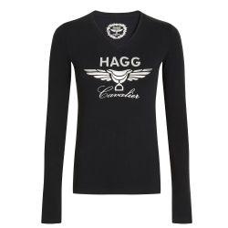 Tee-shirt coton manches longues Femme Tina Hagg