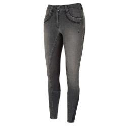 Pantalon équitation jean avec fond Femme Next Generation Elfa Pikeur