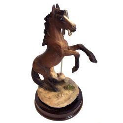Porte photo statue cheval