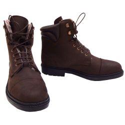 Boots à lacets fourrée nubuck huilé Vigoulet Cavalhorse