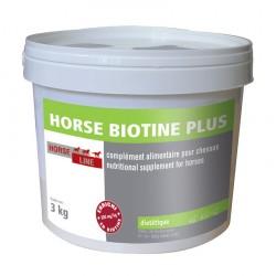 Santé sabots crins 3 kg Horse Biotine Plus Horse Line