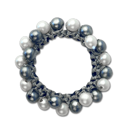 Élastique cheveux avec perles Waldhausen