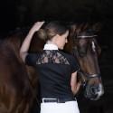 Polo de concours manches courtes Femme Sara Horseware