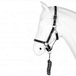 Licol nylon doublé avec longe Sophisticated Equestra