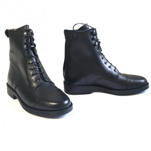 Boots équitation à lacets cuir lisse Derby ride Cavalhorse