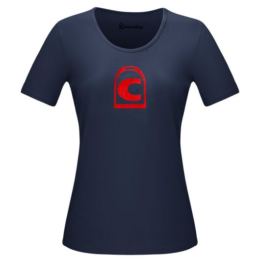 Tee-shirt coton Femme Basina Cavallo