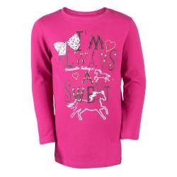 Tee-shirt manches longues Enfant Pony Equestra