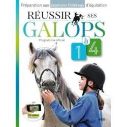 Réussir ses galops 1 à 4  - Programme officiel Guillaume Henry Marine Oussedik Editions Belin