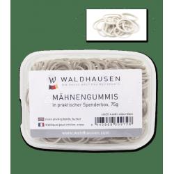 Boite élastiques à natter crinière 75 g Waldhausen