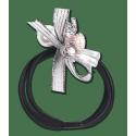 Élastiques cheveux avec perles x 3 Waldhausen