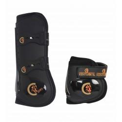 Set protège-tendons élastique et protège-boulets Moonboots Kentucky