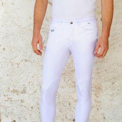 Pantalon équitation microfibre basanes Homme Miky For Horses