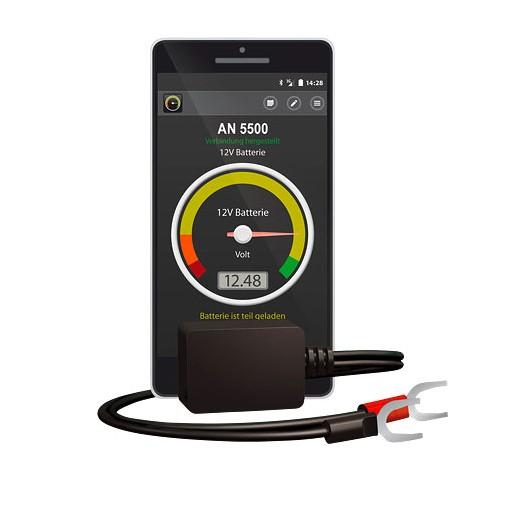 contr leur de batterie avec application smartphone battery. Black Bedroom Furniture Sets. Home Design Ideas