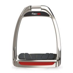 Étriers hunter dressage aluminium Flex-on