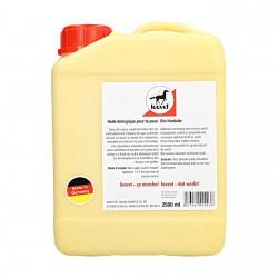 Huile biologique dermite 2,5 L Bio-Hautol Leovet