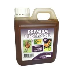Huile de lin chevaux peau et digestion 1 L TRM