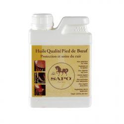 Huile cuir qualité pied de bœuf 500 ml Sapo