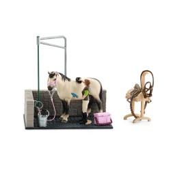 Figurine Box de lavage pour chevaux Schleich