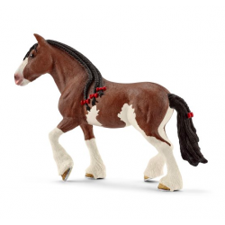 Figurine Jument Clydesdale