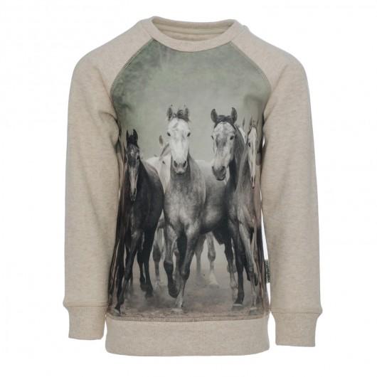 Sweat coton Enfant chevaux Horseware