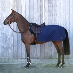 Couvre-reins carré dressage cheval 160 g Kentucky