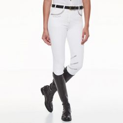 Pantalon équitation avec basanes Femme Jalisca Harcour