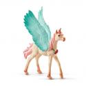 Figurine Licorne-Pégase Bijou Poulain