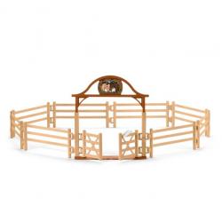 Kit de jeux Pré pour chevaux avec portail