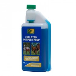 Cuivre chevaux 1,2 L Chelated Copper Syrup TRM