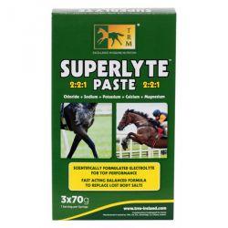 Électrolytes rapides seringue 70 g x 3 Superlyte Paste TRM