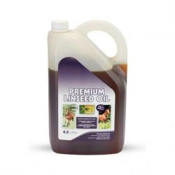 Huile de lin chevaux peau et digestion 4,5 L TRM