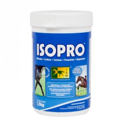 Électrolytes isotoniques chevaux 1,5 kg Isopro TRM