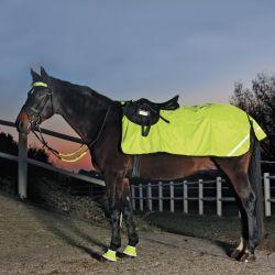 Couvre-reins réfléchissant imperméable cheval Reflex Waldhausen