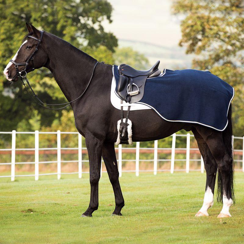 Royal King en nylon noir à Cordon Tirer Rênes Cheval Tack 43-2000