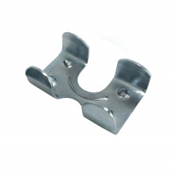 Clip nickelé pour longe cheval 15 mm Equestra