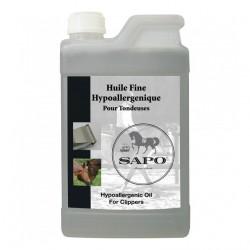Huile fine hypoallergéntique pour tondeuses 1 L Sapo
