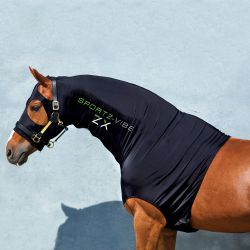 Couvre-cou massant cheval Sportz-Vibe ZX Base Layer Horseware