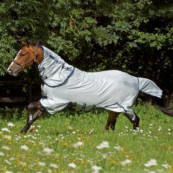 Chemise anti-mouches cheval avec couvre-cou imprégnée Vamoose Amigo Bug Buster Horseware