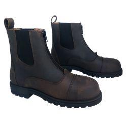 Boots de sécurité équitation zip avant Matabiau Cavalhorse