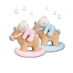 Peluche musicale berceuse ourson poney Waldhausen