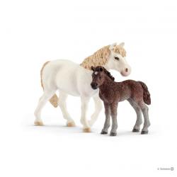 Figurine Ponette et Poulain