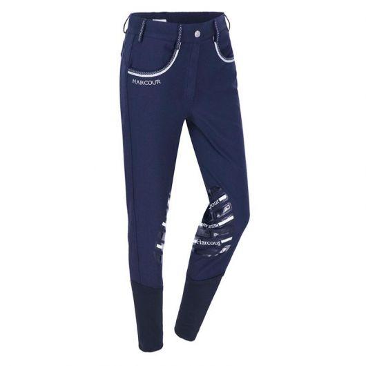 Pantalon équitation basanes Fix system grip Femme Harcour