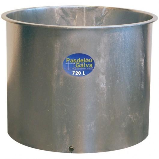 Bac à eau métalique galvanisé 720 l - La Gée