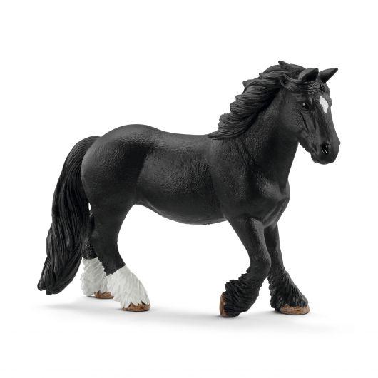 Figurine jument Tinker noire Schleich