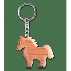 Porte clés bois Cheval
