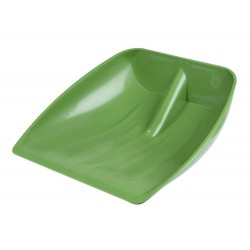 Tête de pelle plastique avec rebord