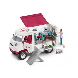 CAMION VETERINAIRE MOBILE  SCHLEICH