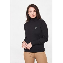 PULL COL ROULE  FEMME ANAELLE HARCOUR H19