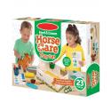Jouet peluche soin chevaux